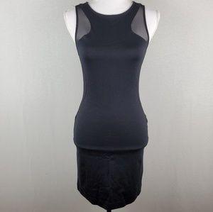 Express Sleeveless Sheer Side Body Con Dress 4